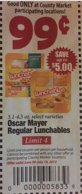 Lunchable coupons august 2018