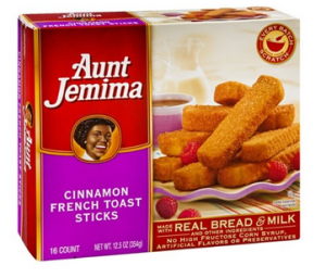 aunt jemima french toast sticks