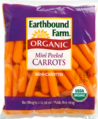 earthbound farm organic mini carrots