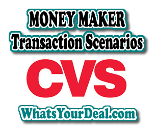 CVS Money Maker TransactionScenario