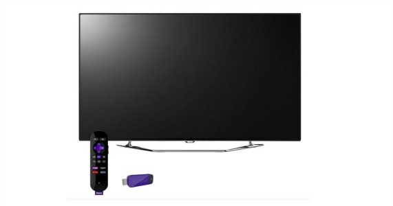 55 4k led tv with roku streaming stick only at kohl s grocery coupons wyd. Black Bedroom Furniture Sets. Home Design Ideas