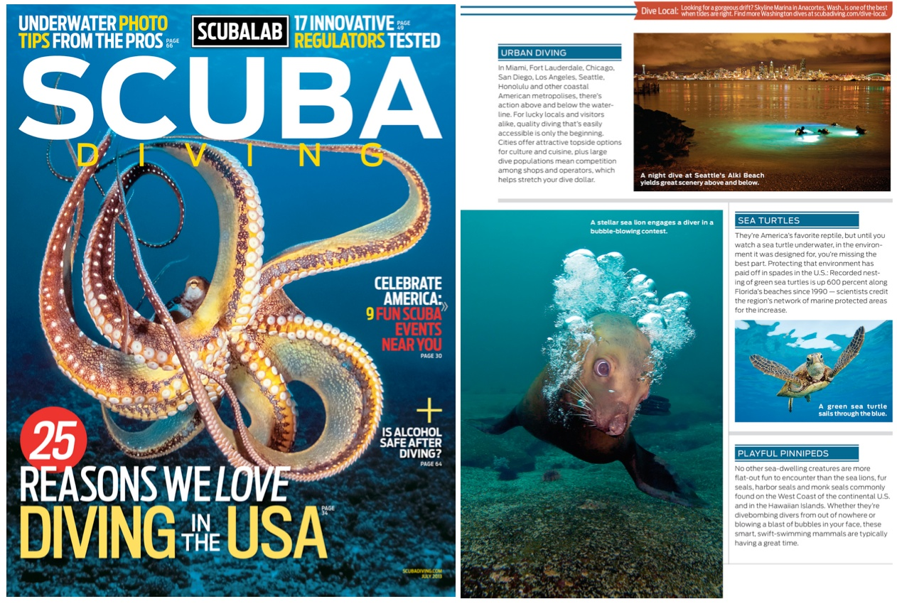 Who Started Scuba Diver Magazine