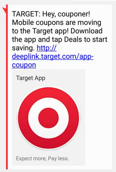 Target mobile coupon codes january 2018