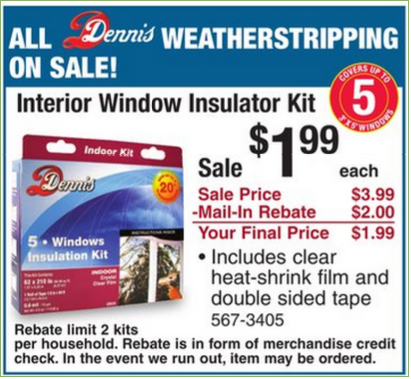 Oooooh It S Never Too Late To Insulate Especially At This Price Kiss Those Drafty Windows
