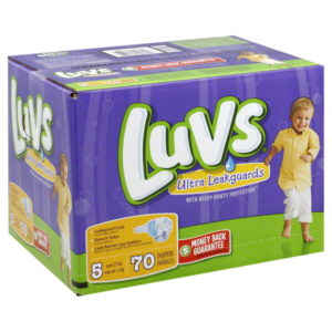 Luvs Diapers 70 Ct.