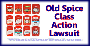 Old Spice Class Action Lawsuit