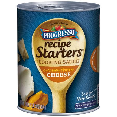 Progresso Recipe Starters Coupon If you are interested in trying out one of these sauces, click the link below for a $ savings off the purchase of 1 can of Progresso® Recipe Starters Cooking Sauce.