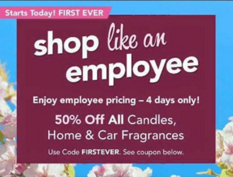 Shop like an employee50 off all yankee candles car home with screenshot 2016 03 17 at 100442 am fandeluxe Gallery