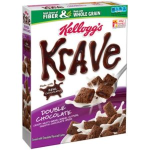 Kellogg's Krave Double Chocolate