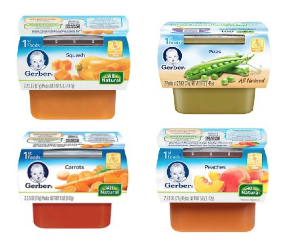 Gerber Baby First Foods List
