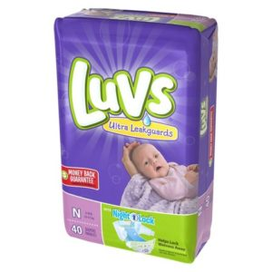Luvs Diapers 2