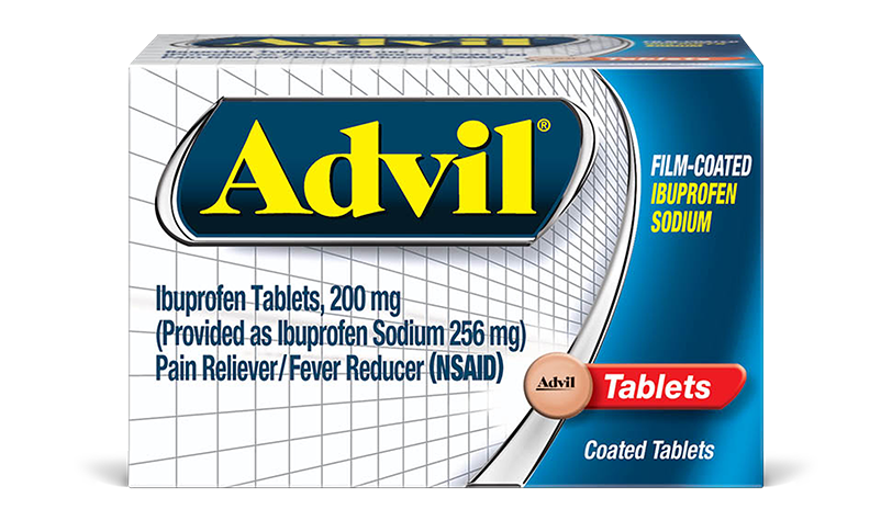 Advil Film Coated Pain Reliever