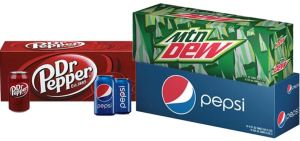 dr pepper mountain dew pepsi
