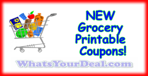 Grocery Printable Coupons