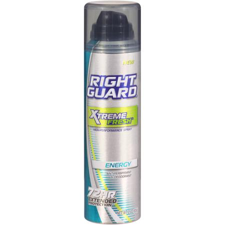 Right Guard Extreme 72 Hour Spray Deodorant