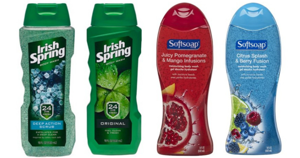 Irish Spring And Soft Soap Body Wash