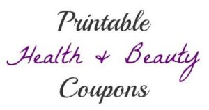 health & beauty coupons