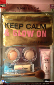 Hard Candy ; Gilmmer & Glow