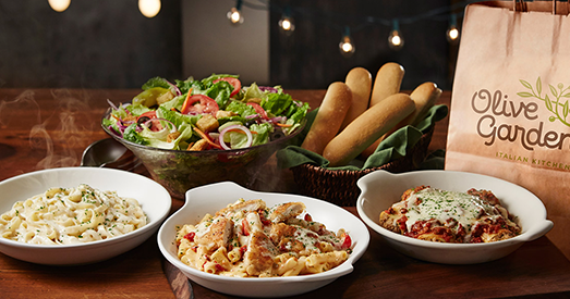 Whoa Feed The Family For Less Than 27 With This Hot To Go Deal At Olive Garden