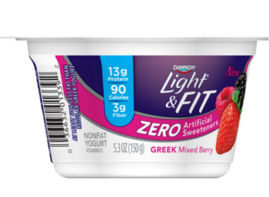 DANNON light & fit zero