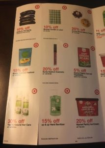 Target Booklet Coupon 3