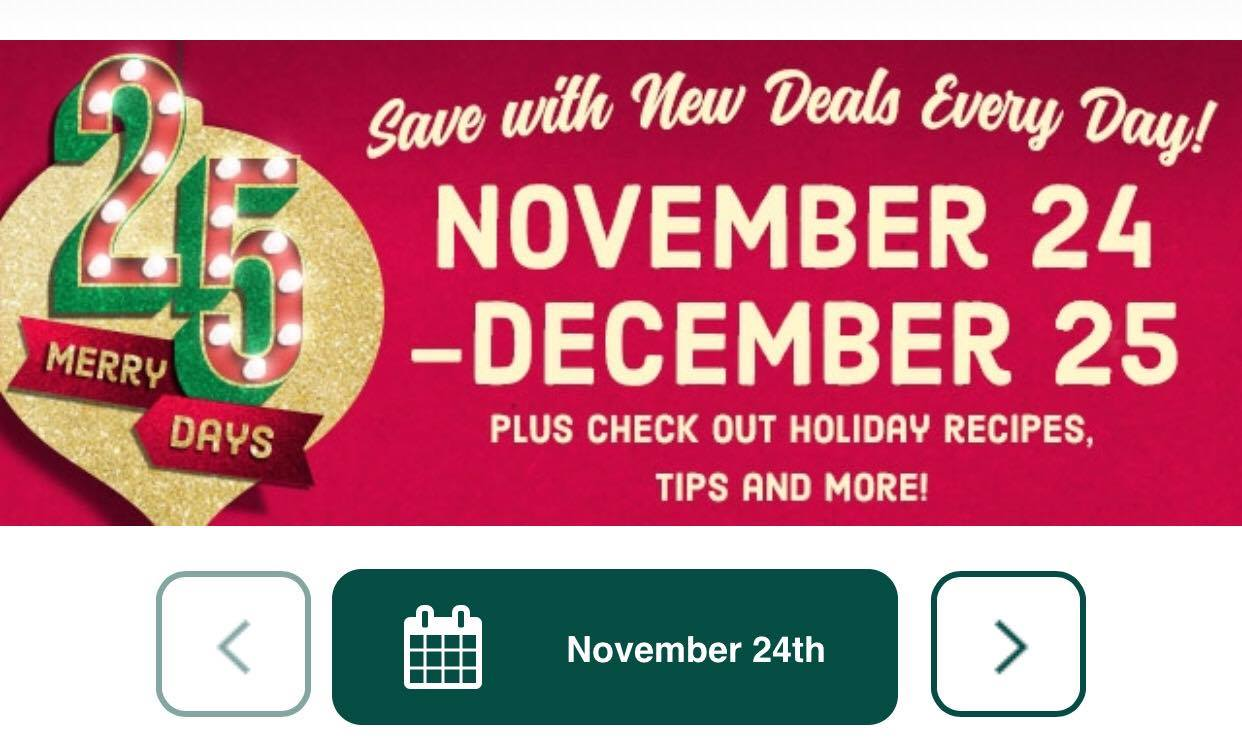 kroger merry days of christmas todays coupons couponcommunity krogerdeals krogermerrydaysofchristmas