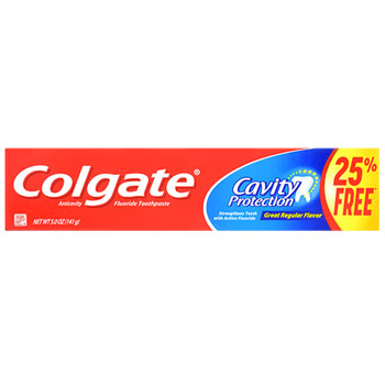 dollar store toothpaste