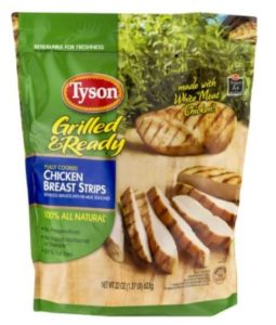 TYSON GRILLed