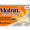 Motrin Liquid Gels 20ct